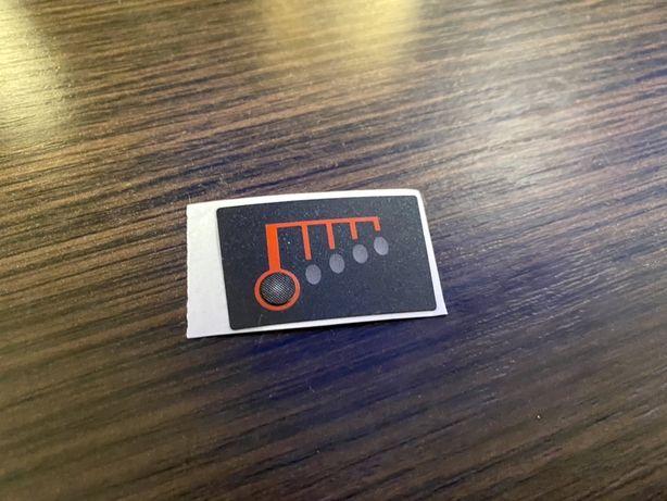 Стикер метка уровень заряда наклейка для аккумулятора батарея зарядное