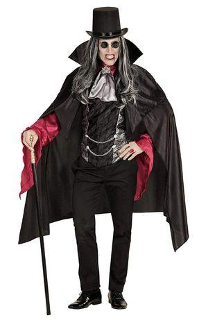 Strój mroczny wampir wampira gotyk halloween