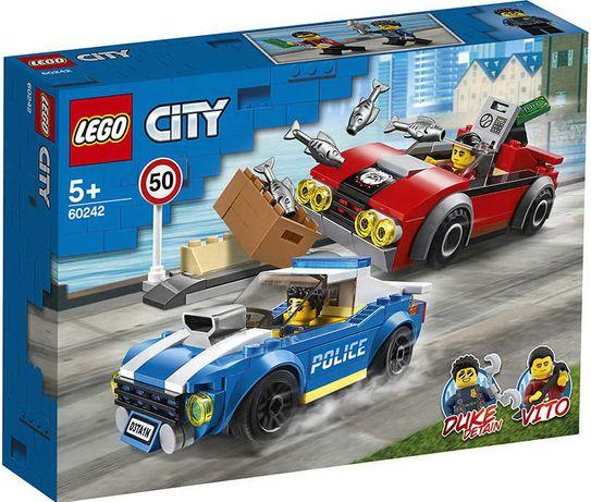 Конструктор LEGO City 60242 Арест на шоссе