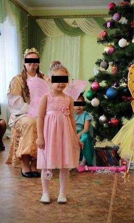 Платье нарядное, костюм фея 3-5 лет