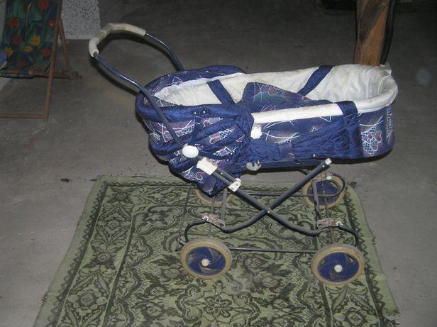 Wózek dla dziecka z nosidełkiem czasy PRL-u TANIO