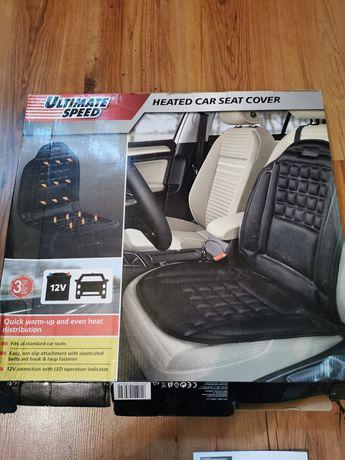 Mata grzewcza podgrzewana samochodowa na siedzenie