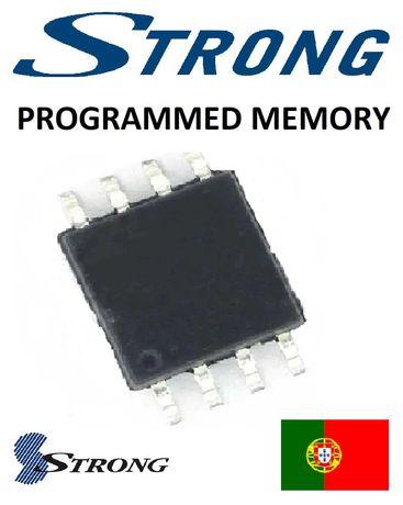 TV LCD STRONG STR 32HB4003 MS36639-ZC01-01 25Q64 memoria programada