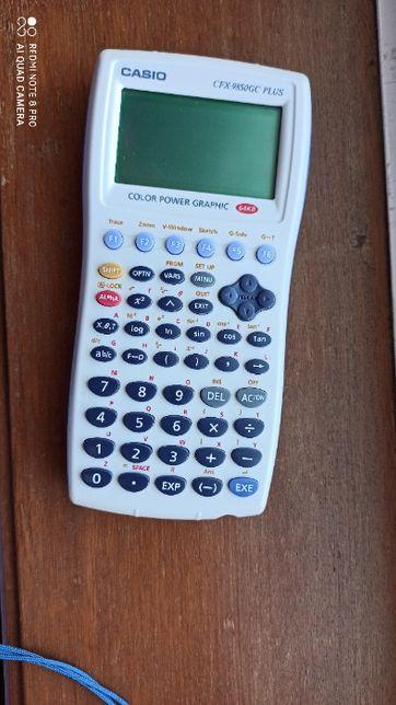 Máquina de calcular científica Casio CFX - 9850 GC Plus