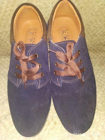 Туфли на подростка,натуральные