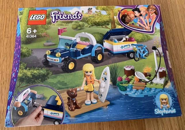 Lego Friends 41364 - Buggy e Reboque da Stephanie