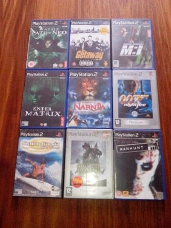 6 Jogos variados Playstation 2 PS2