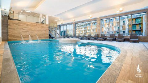 Noclegi nad morzem apartament z basenami siłownią  w Kołobrzegu