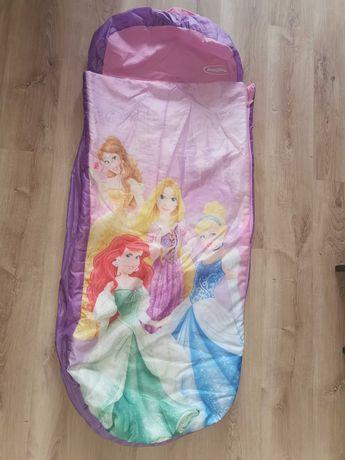 Łóżko materac pokrowiec śpiworek do spania księżniczki Disney
