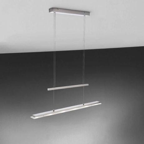 Nowoczesna lampa stołowa stół jadalnia szkło LED 20W RACK paul neuhaus
