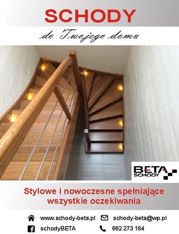 Schody Zabiegowe Samonośne Drewniane Warszawa Mazowieckie Cała Polska