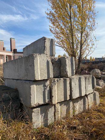 Блок бетонный, строительство