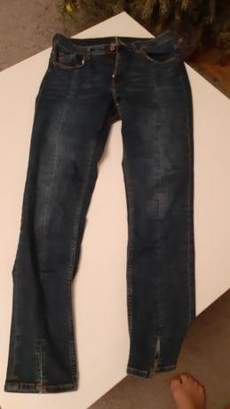 Spodnie damskie H&M rozm 30 CN170/76A skinny ankle high waist