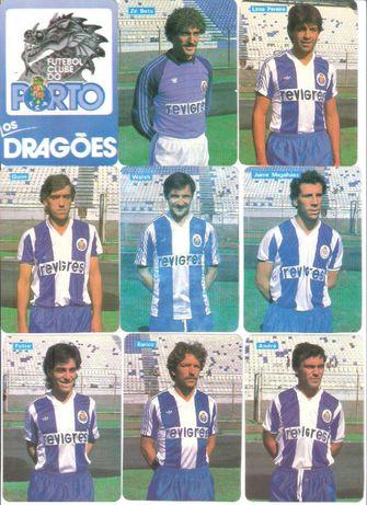 """Calendários #23 """"Futebol Clube Porto Os Dragões 1985"""""""