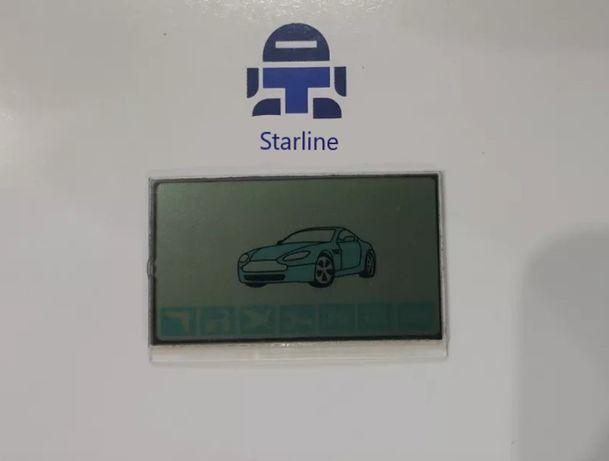 Дисплей/Экран Starline A 61/A 91 + стекло + шлейф