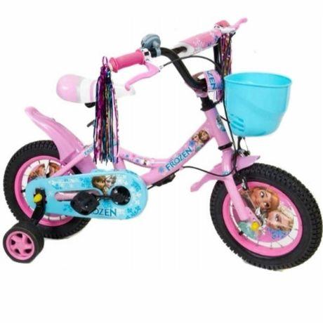 Rower 12 cali Frozen Kraina Lodu Rowerek dla dziewczynki