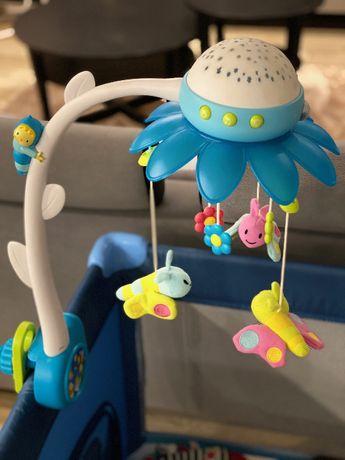 Karuzela projektor Smily Play niebieska