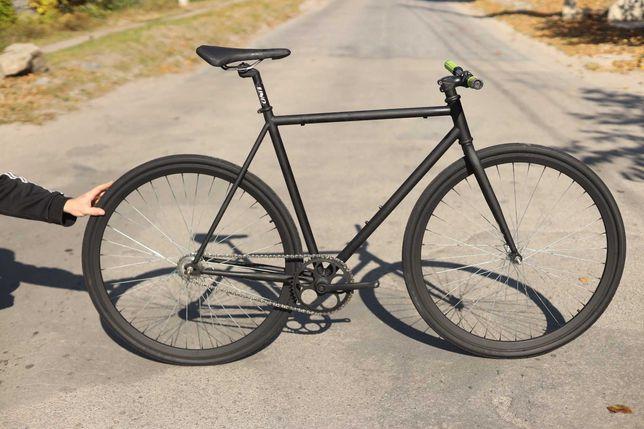 Трековый велосипед фикс fix шоссейник шоссер городской велосипед