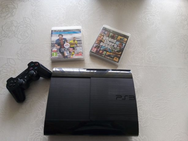 Konsola Playstation 3 ps3 + pad + 2 gry