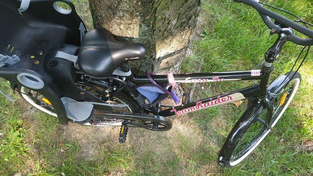 Rower damski + krzeselko