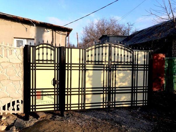 Ворота, гаражные ворота, решетки, навесы, лестницы, заборы, беседки