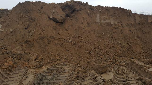 Czarnoziem przesiewany humus, podwyższenie terenu.