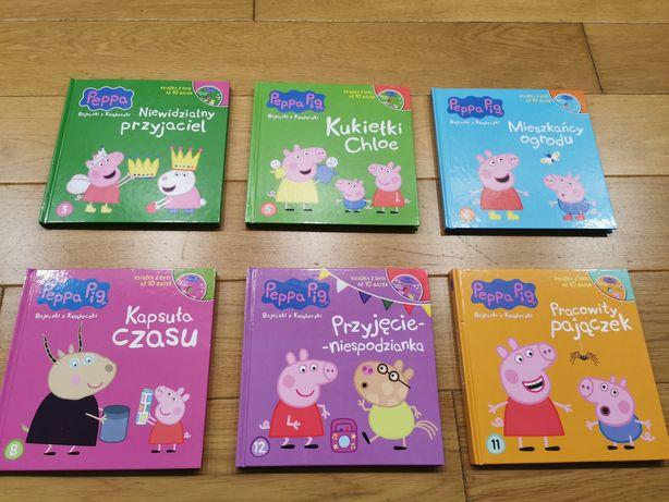 6x książeczka z bajkami na DVD Świnka Peppa