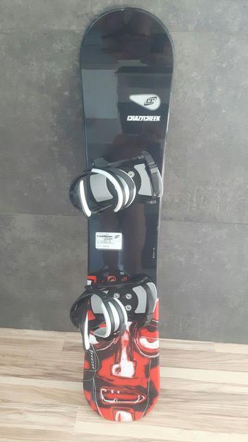 Deska snowboardowa z wiązaniami 133cm