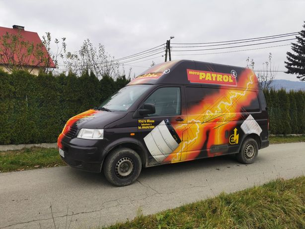 Zamiana motocykl qad atv cross T5 transporter VW Volkswagen bus