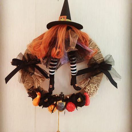 Веночок на Хеллоуин