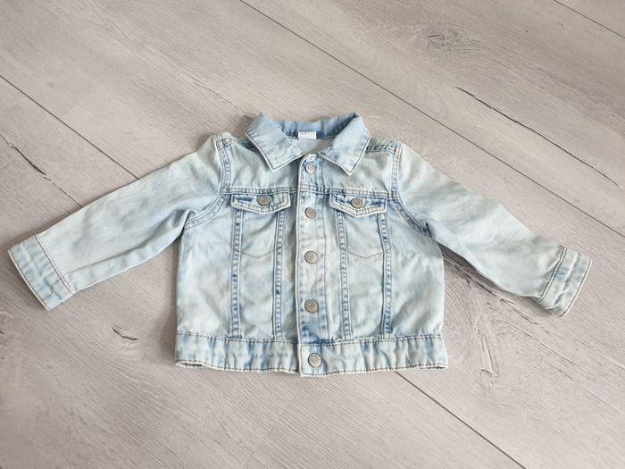 Kurtka jeansowa H&M roz 86 Łódź - image 1