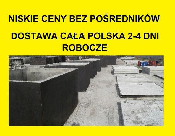 szamba szambo betonowe zbiorniki na deszczówkę ścieki kanał 8m3 i inne