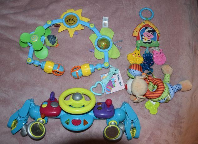 Zabawki interaktywne do mocowania dla niemowląt