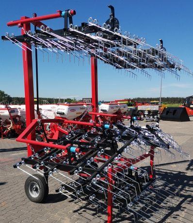 Brona chwastownik 6 m, OD RĘKI, Agro Factory II 2021 ROK transport