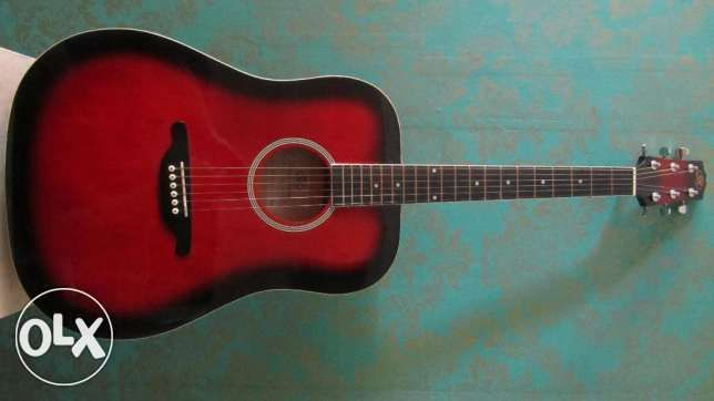 ! Продам! гитару SX DG25/VS серебрянные струны. +чехол