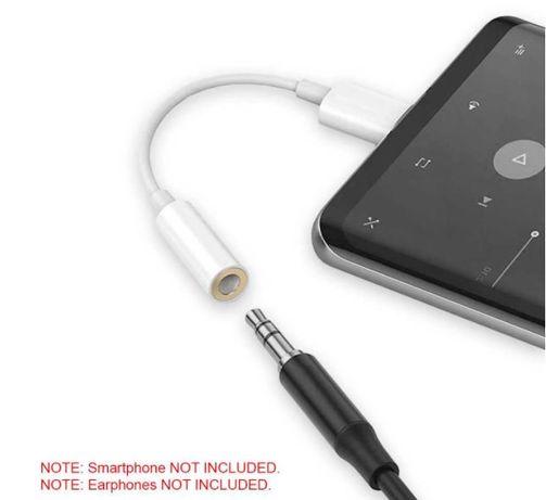 Adaptador para Xaomi USB C Vs Aux 3.5 mm » Áudio Jack de Fones