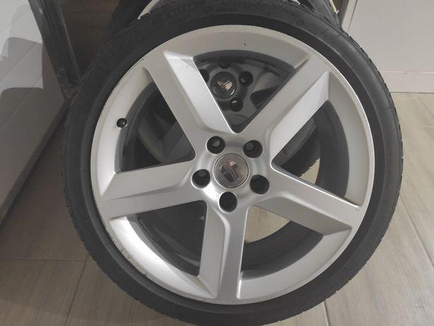 Felga felgi koła 18 Seat Exeo Audi VW 5x112 et42 18 Cali