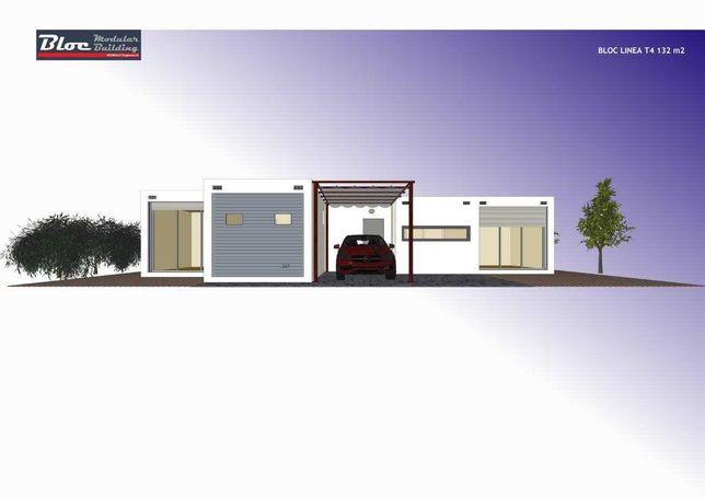 Moradia, Casa Modular BLOC Línea T4-132m2