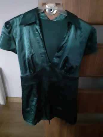 Bluzka butelkowa zieleń