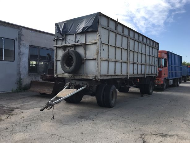 Прицеп маз зерновоз бортовой контейнеровоз тентованый