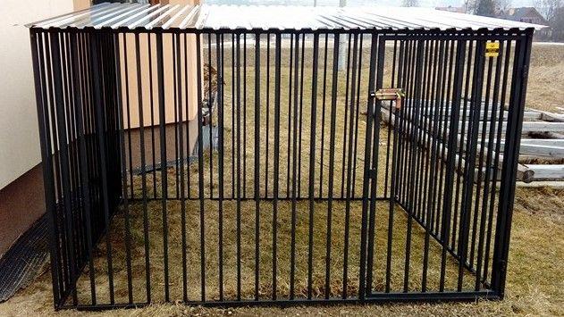 Kojec dla psa 6x2 m Kojce dla psów