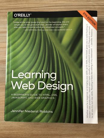 Learning Web Design 5th edition 2018 o'reilly - HTML, CSS, JS, WEB etc