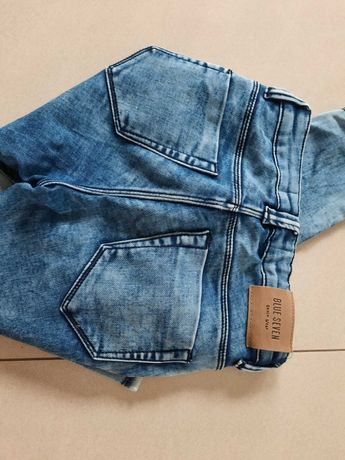 spodnie Jeansy miekkie j legginsy j Mayoral blue Seven 146