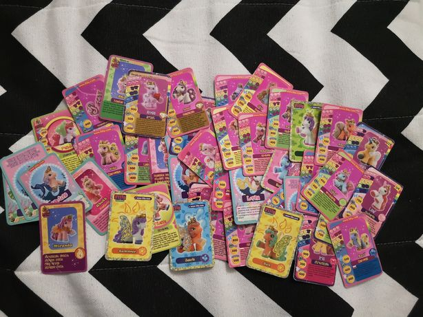 Karty kolekcjonerskie Filly ponad 50 sztuk