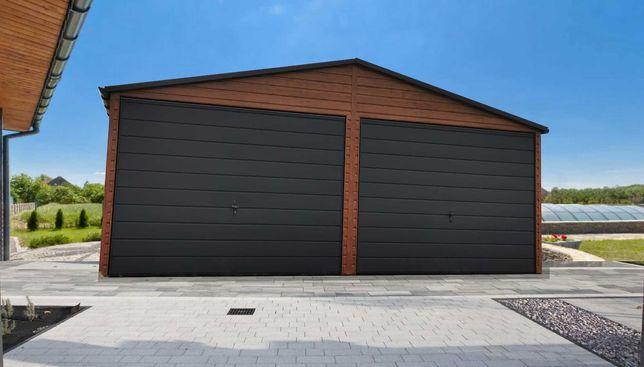 garaż drewnopodobny blaszak KAŻDY wymiar 3x5 4x5 4x6 5x6 6x5 6x6 9x6