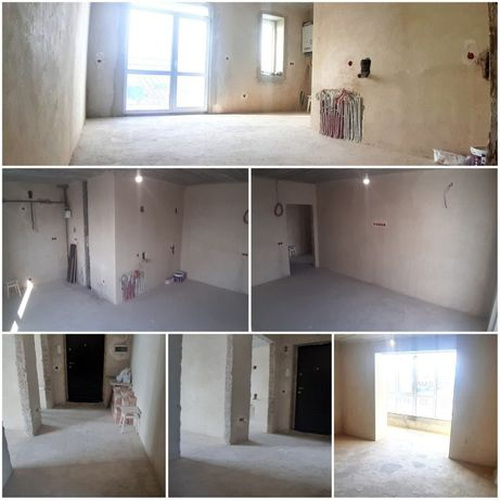 2,5 кім. квартира, 80 м2, ремонт 50 %, здана та обжита новобудова