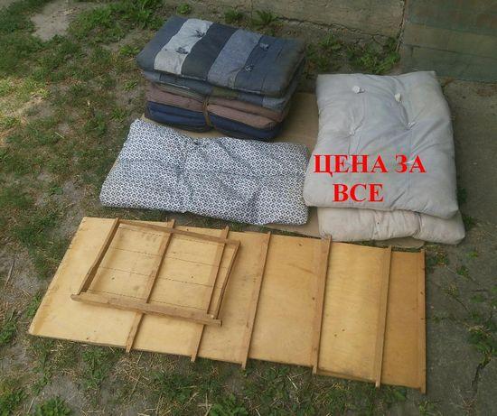 СССР утеплитель пчелиных ульев вуликів подушка матрас заставная доска