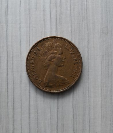 1 NEW PENNY 1976 moneta kolekcjonerska