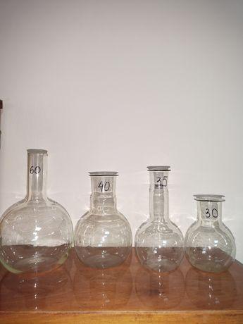 Лабораторная посуда,колбы, чаши воронки
