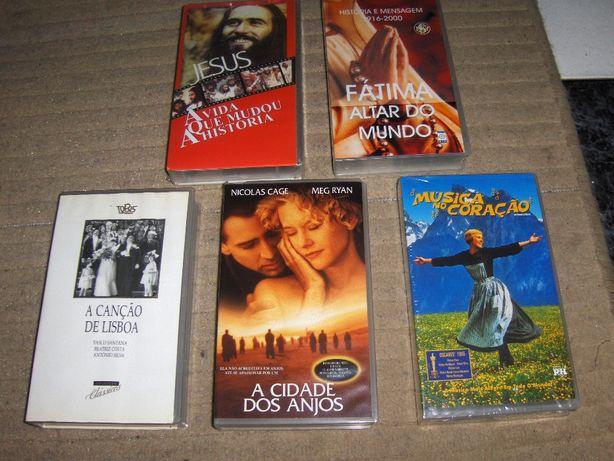 FILMES diversos em VHS e Séries do MR BEAN em VHS - Cassetes Novas